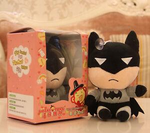 Batman 18cm Recording doll Cute Characters plush Birthday Christmas Gift Grey