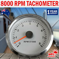 NEW Marine Motor Tachometer Boat Tacho Gauge Car Truck Digital 0-8000 RPM