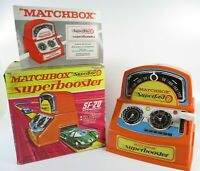 Vintage 1970 Matchbox Superfast Superbooster SF-20 Boxed Instructions Untested