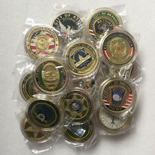 Lots of 20 Dallas Chicago Los Angeles BOSTON...Police Department Challenge Coin