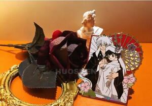 Inuyasha Sesshomaru Rin Rumiko Kagome Kikyo Naraku Pin Brooch Limit Marry Badge