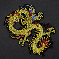 1 Pc Dragon Clothes Patch Embroidery Decor Fabric Applique Sew On DIY Craft