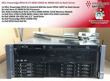 DELL Poweredge R910 4x E7-4830 256GB 4x 300GB SAS 4u Rack Server