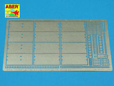 1/35 ABER  35A107 PHOTO-ETCHED SIDE SKIRTS for GERMAN PANTHER Ausf. A & D