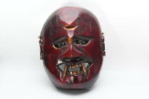 Traditional Handmade Demon Protector Mountain Jhakri,Shamanic,Shaman,Tharu Mask
