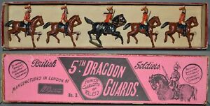 Britains Pre-War Set #3 5th Dragoon Guards (ca. 1897) **AA-12970**