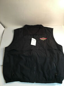 Anheuser Busch AB Beer Reversible Vest Budweiser Clydesdales Men's 3XL NEW