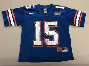 FLORIDA GATORS NIKE BLUE TODDLERS FOOTBALL #15 JERSEY SIZE 2T TIM TEBOW!!