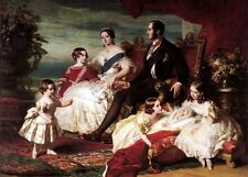New 13x17 Print: Portrait of Queen Victoria, Prince Albert, and Their Children
