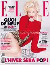 Elle Magazine France January 2016 MADONNA NEW