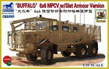 """1/35 BRONCO 35145 - """"Buffalo"""" 6x6 MPCV w/Slat GRILL Armor IRAQ & AFGHANISTAN"""