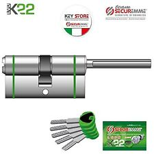 CILINDRO DI SICUREZZA SECUREMME K22 CON CODOLO RASABILE