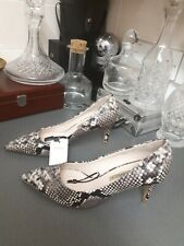 Zara Animal Print Shoes UK 8 EU 41
