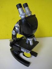 BAUSCH LOMB LN2341 MICROSCOPE BINOCULAR WITH OBJECTIVES 43X 97X 10X EYEPEICES