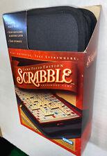 Opened Box Contents New Scrabble Word Game Folio Ed. Travel Hasbro Case