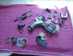 Volvo 1991-1992 240 WAGON Lock Set. 6-Locks coded to the same key. Nice Set.