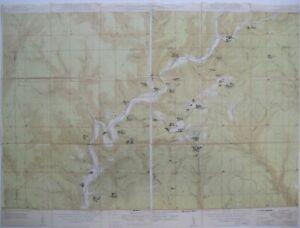 Original Survey Maps OIL & GAS WELLS Kettle Creek Tamarack Swamp Pennsylvania
