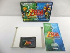 "GAME BOY ADVANCE GBA ""The Legend of Zelda A Link to the Past & Four Swords""BOXED"