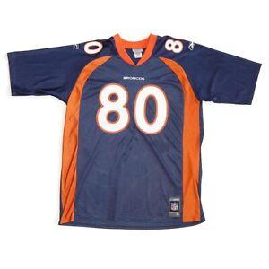 Denver Broncos 80 Rod Smith NFL Football Jersey Shirt Men's size XL Reebok