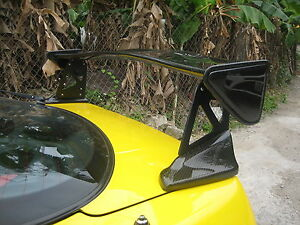 Carbon Fiber MUGN Rear Spoiler Wing type-R DC2 fit for Honda Acura Integra coupe
