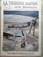 La Tribuna Illustrata 1 Agosto 1897 Disordini Candia Bulgaria Boitcheff Tevere