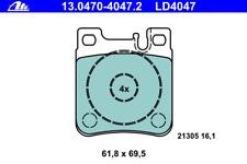 Bremsbelagsatz Scheibenbremse ATE Ceramic - ATE 13.0470-4047.2