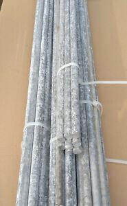 8 Stück Alu Stange ca. 1,0 m Länge Ø16mm Rundstab Aluminium Stange Rundmaterial