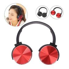 Wireless Bluetooth Noise Canceling Over Ear Headphone Stereo Headsets Microphone