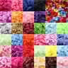 SILK ROSE PETALS FLOWER TABLE DECORATION CONFETTI WEDDING ENGAGEMENT PARTY