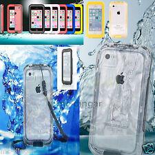 WATERPROOF DIRTPROOF SHOCKPROOF CASE FOR APPLE iPhone 5 5S SE 5C RETAIL PACKAGE