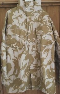 """Waterproof and breathable """"goretex"""" DPM Desert Camouflage jackets 2 pockets"""