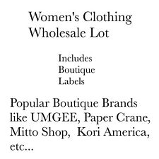 NEW Women's Wholesale Clothing Lot Boutique Brands Labels Resale Lot Sizes S M L