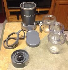 Nutribullet Magicbullet Blender Includes 3 - 20 Oz Cups , 9 pieces total*