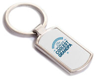 Grandpa Gift Birthday Key Ring Personalised To Be Present Fathers Day Idea