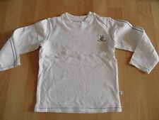 KANZ schönes Langarmshirt creme Gr. 98 TOP HHa1014