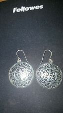Shivam Made in India .925 Sterling Silver  Earrings New