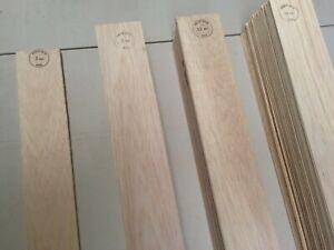BALSA WOOD SHEET 915mm LONG, 75 & 100 WIDE, 1.0mm - 25.0mm THICK