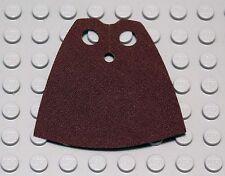 NEW LEGO - Cape - Reddish BROWN - Starched Fabric - Star Wars Jedi Master