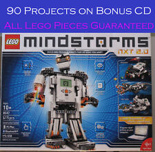 Lego 8547 Mindstorms NXT 2.0, NIB Retired Set, w90 Projects on CD included, #300