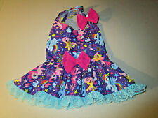 XL female Dog dress [My little pony] cotton handmade