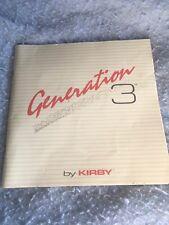 Kirby Generation 3 Instruction Book