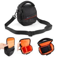 Maletines, bolsas y fundas negros para cámaras de vídeo y fotográficas Panasonic y Cámara compacta