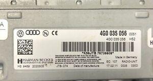 Audi Radio Amp Control Unit 4g0035056 🇬🇧