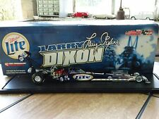 Action 2002 Larry Dixon Top Fuel Dragster Miller Lite 1:24 Scale MAC Tools 1,608