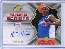 2007-08 SPX CARD#SS-AT AL THORNTON AUTOGRAPH, LOS ANGELES CLIPPERS