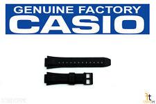 CASIO MW-600 15mm Original Black Rubber Watch BAND Strap MW-600B MW-600E MW-600F