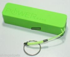 Power Bank 2600mAh For iPhone Samsung Nokia Sony Cellphone Phablet(Green)
