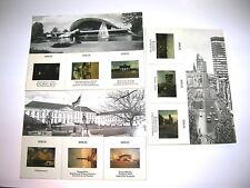 Berlin Postkarten mit Farb Dias 1967