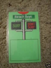 Beach Boys 1991 Tour Surf/Don'T Surf Backstage Pass Laminate Collectible Rare