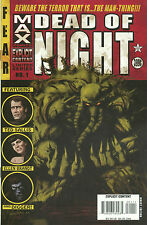Dead of Night #1-3  (VF/NM 1st Prints) (Marvel Max) (Man-Thing)